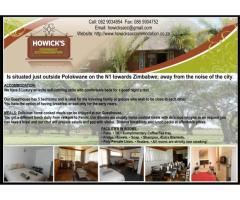 Howicks Overnight Accommodation