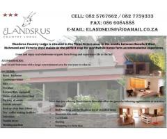 Elandsrus Country Lodge