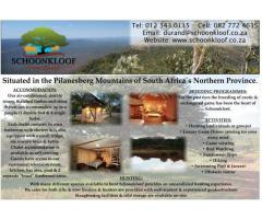Schoonkloof Game Ranch