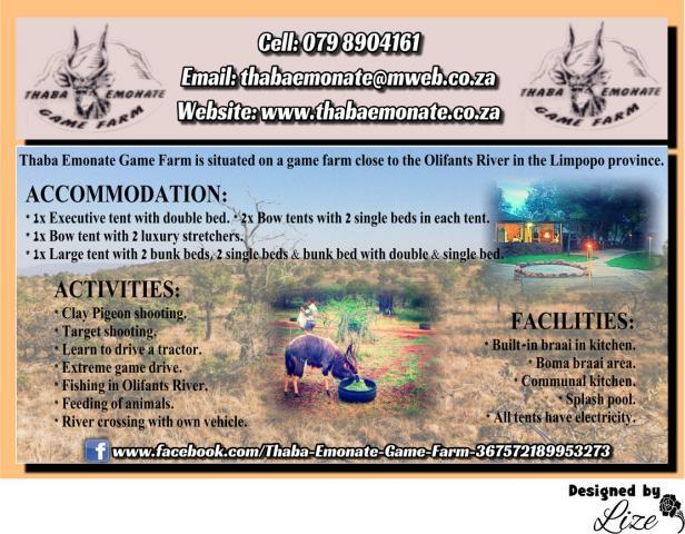 Thaba Emonate Game Farm