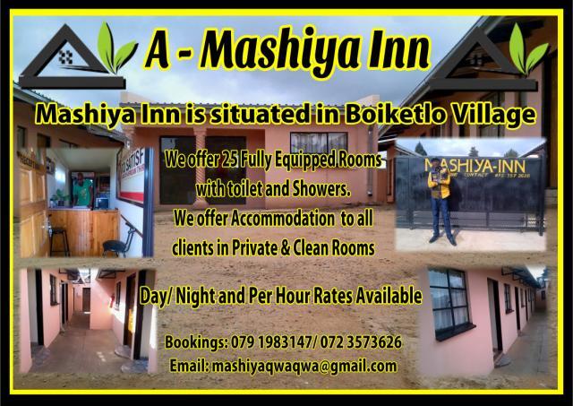 A. Mashiya Inn