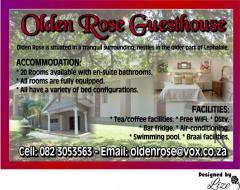 Olden Rose Guesthouse / Olden Café