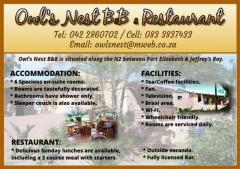 Owl's Nest B&B & Restaurant