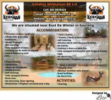 Goodina Wildsplaas BK t/a Loodswaai Game Ranch