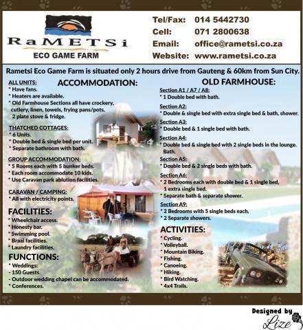 Rametsi Eco Game Farm