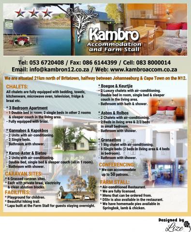Kambro Accommodation & Farm Stall