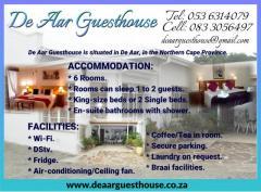 De Aar Guesthouse / Dorpshuis Guesthouse
