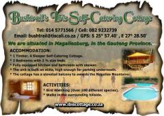 Bushtrail's Ibis Self-Catering Cottage