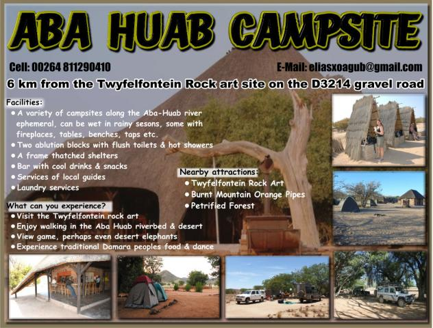 Aba Huab Campsite