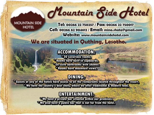 Mountain Side Hotel
