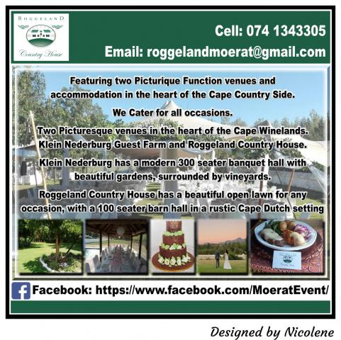Moerat Events and Function Venue