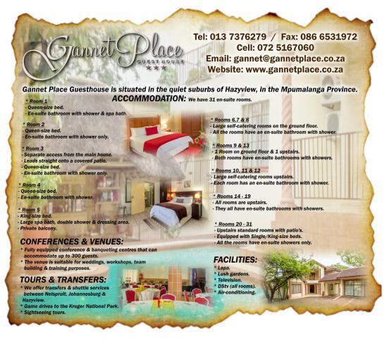 Gannet Place Guesthouse