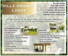 Villa Grande Lodge
