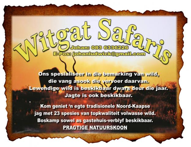 Witgat Safaris
