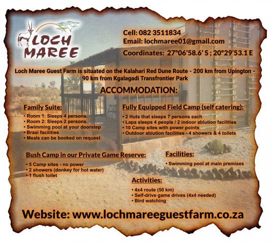 Loch Maree Guest Farm & Field Camp