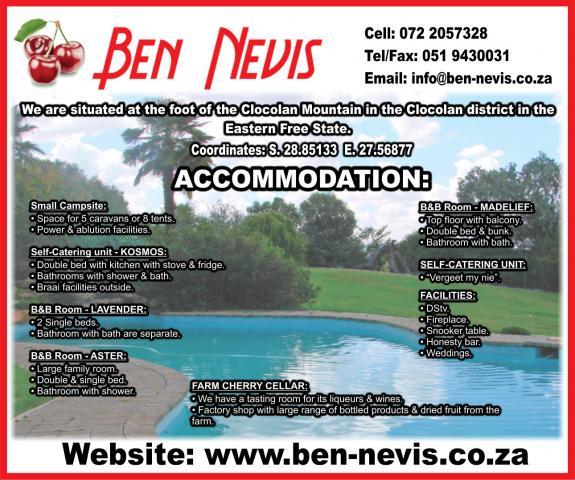 Ben Nevis Guestfarm