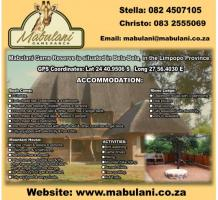 Mabulani Game Reserve