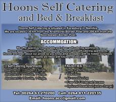 Hoons Self Catering and Bed & Breakfast