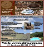 Monteiro Namibia Self-catering & Camping