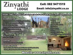 Zinyathi Lodge