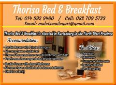 Thoriso Bed & Breakfast