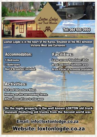 Loxton Accommodation