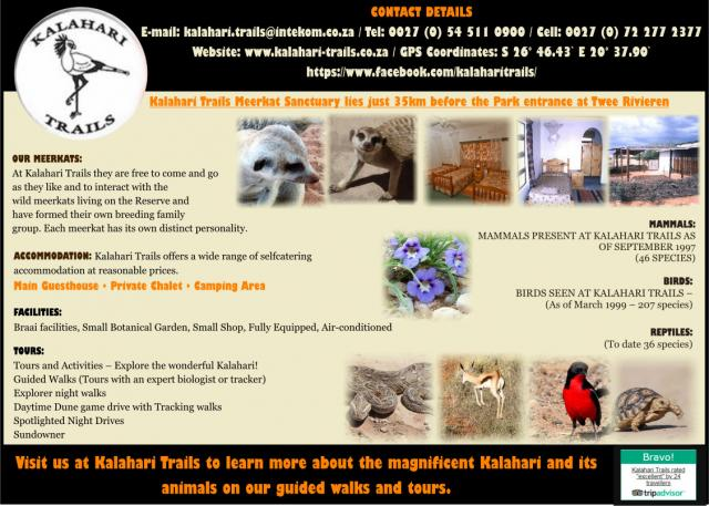 Kalahari Trails