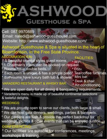 Ashwood Guesthouse & Spa