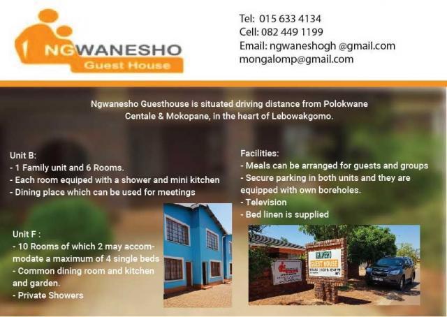 Ngwanesho Guesthouse