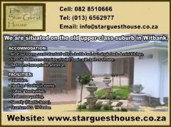 The Star Guesthouse in Witbank