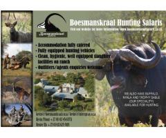 Boesmanskraal Hunting Safaris