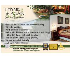 Thyme & again B&B
