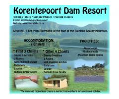 Korentepoort Dam Resort