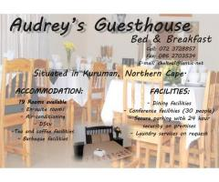 Audrey's Guesthouse Bed and Breakfast