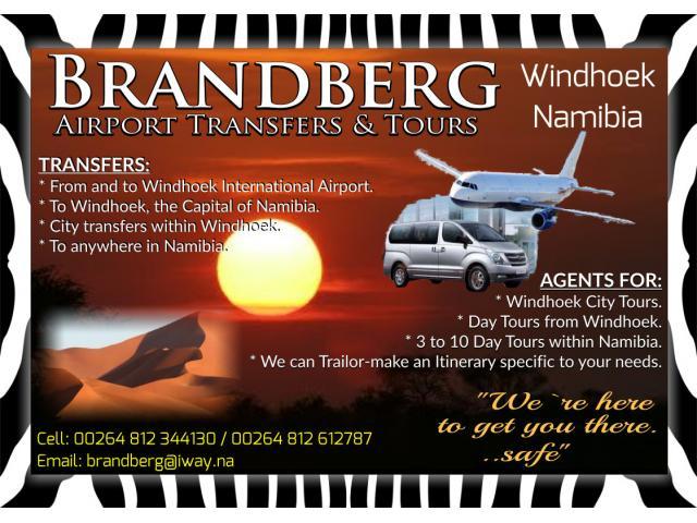Brandberg Airport Transfers & Tours