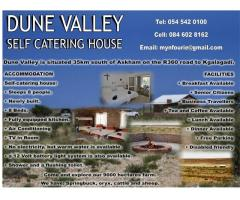 DUNE VALLEY SELF CATERING HOUSE