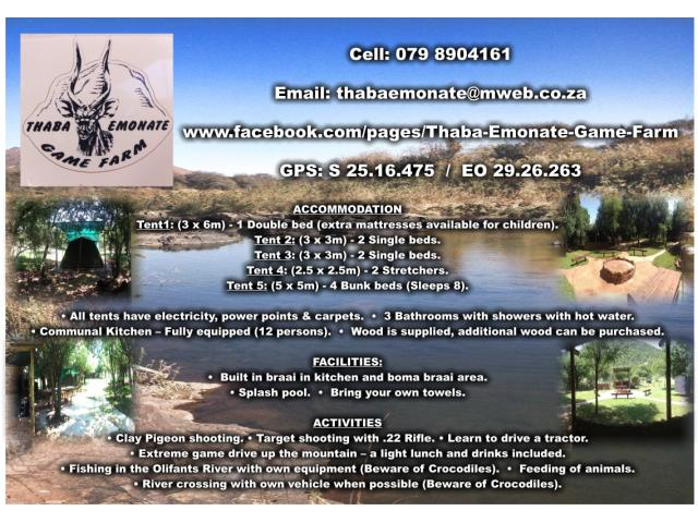 Thaba Emonate Game Farm