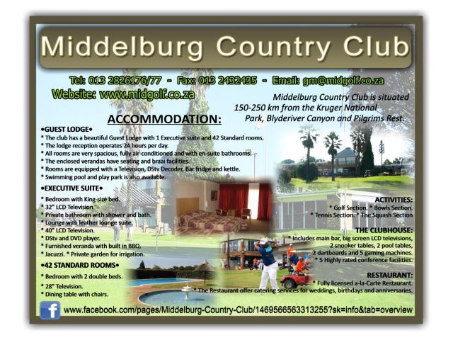 Dating middelburg mpumalanga