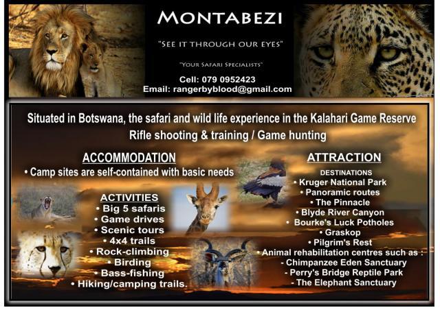 Montabezi Tours and Safaris