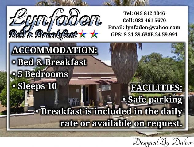Lynfaden Bed & Breakfast