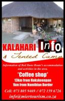 Kalahari Info & Tented Camp / Coffee Shop